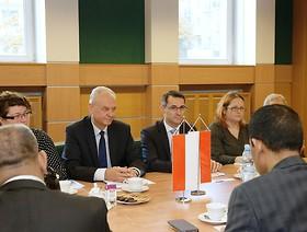 Spotkanie Głównego Inspektora z Dyrektorem Generalnym ds. Sadownictwa i Ogrodnictwa