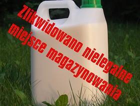Uwaga na nielegalne środki ochrony roślin