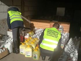 Inspektorzy WIORiN w Poznaniu ujawnili nielegalne środki ochrony roślin