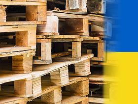 Wywóz na Ukrainę towarów z towarzyszeniem drewnianego materiału opakowaniowego